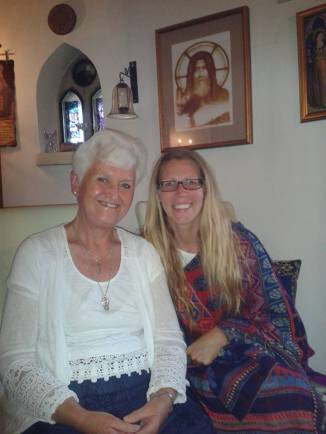 Me and Katharine Kinnie_24 June 2017_World Fairy Day Interview of Me