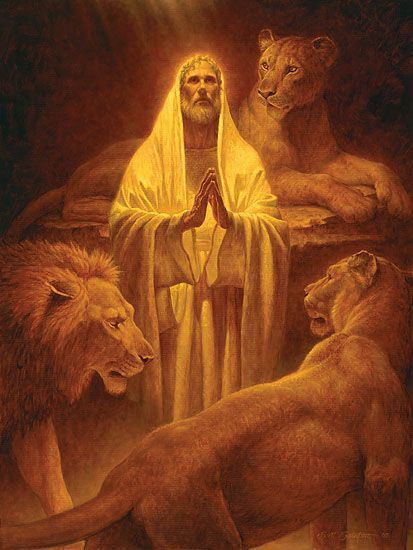 Daniel the Prophet in the Lions Den_90721d873f45b753e172f4c0deab4ff3