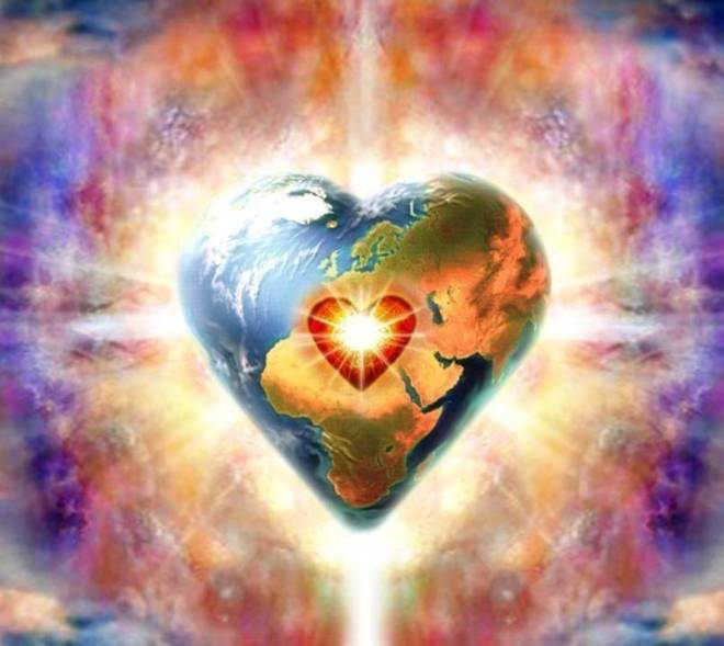 2 Heart Shaped Earth