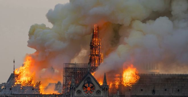FRANCE FIRE NOTRE DAME_15 April 2019