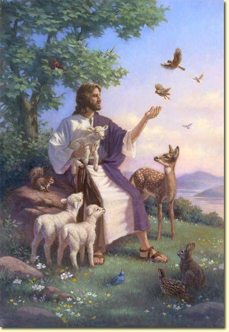 YESHUA Lambs and Deer_Corbert Gauthier Artist.jpg