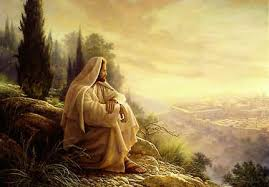 Yeshua Overlooking Kidron Valley